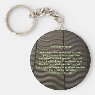 Prayer of Jabez Key Ring
