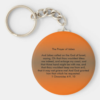 Prayer of Jabez Keychain