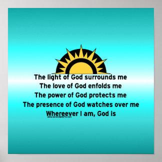 Prayer of Protection Print
