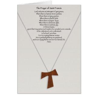Prayer of Saint Francis Card