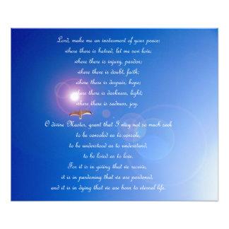 Prayer of Saint Francis Poster Photo Art