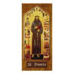 """Prayer of St. Francis of Assisi"" Rack Card Design"
