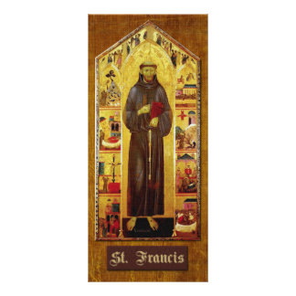 Prayer of St Francis of Assisi Rack Card Template