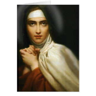 PRAYER OF ST TERESA OF AVILA GREETING CARD