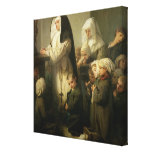 Prayer of the Children Suffering from Ringworm Canvas Print