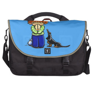 Prayer Partners Boy B T Dachshund Laptop Commuter Bag