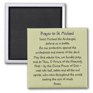 Prayer ~ St. Michael Magnet