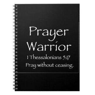 Prayer Warrior Journal black