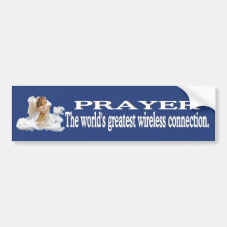 Prayer Worlds Greatest Wireless Connection #2 Bumper Sticker