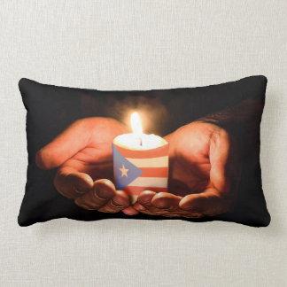Prayers for Puerto Rico Pillow
