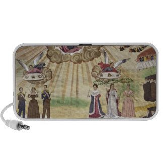 Prayers to the Gods for the Liberation of Greece, Notebook Speaker