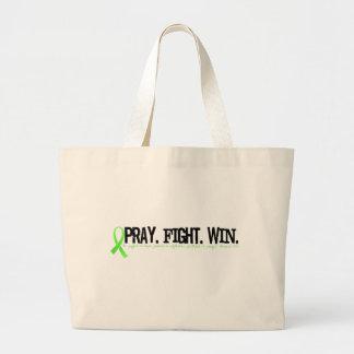 PrayFightWin Jumbo Tote Bag
