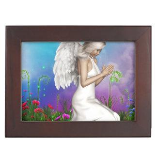 Praying Angel Memory Boxes