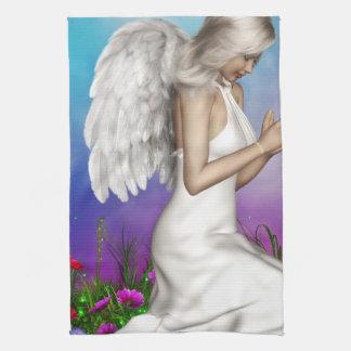 Praying Angel Tea Towel
