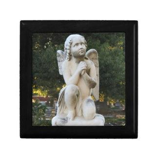 Praying Angel Tile Gift Box