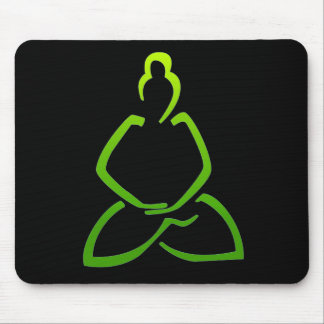 Praying Buddha Mouse Mat