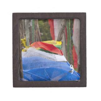 Praying flag poles in mountain, Yotongla Pass 3 Premium Gift Boxes