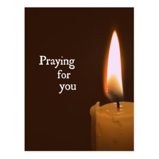 Praying for You Postcard