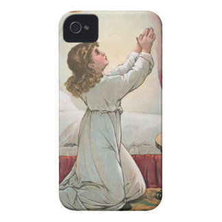 Praying Girl iPhone 4/4S Case-Mate Barely There™ iPhone 4 Case-Mate Cases