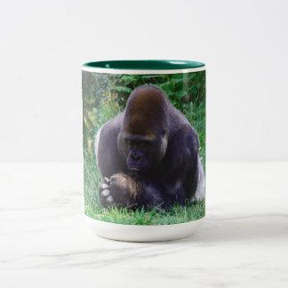 Praying Gorilla Coffee Mug