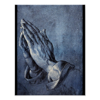 Praying Hands', Albrecht_Studies of the Masters Poster