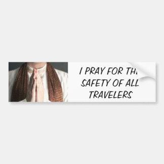 Praying Hands Bumper Sticker