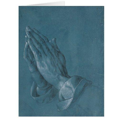 Praying Hands by Albrecht Durer Cards