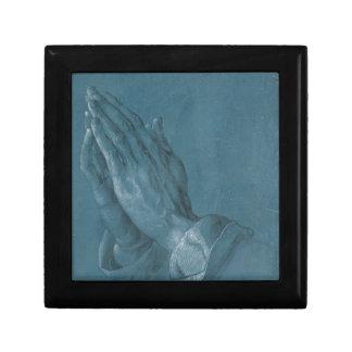 Praying Hands by Albrecht Durer Jewelry Box