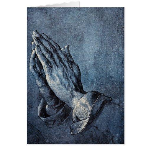 Praying Hands Card