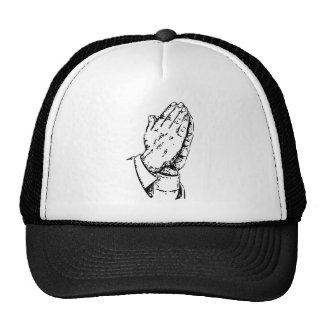 praying hands trucker hats