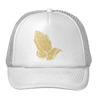 Praying Hands Mesh Hats