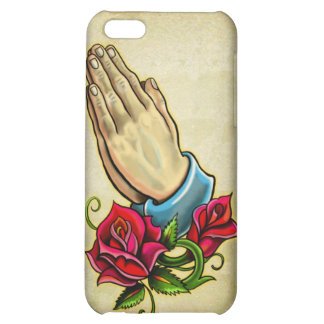 Praying Hands iPhone 5C Cover