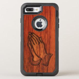 Praying Hands OtterBox Defender iPhone 7 Plus Case
