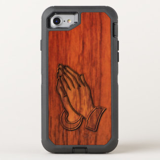 Praying Hands OtterBox Defender iPhone 8/7 Case