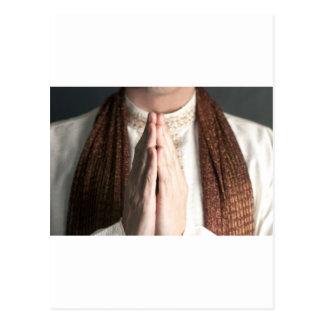 Praying Hands Postcard