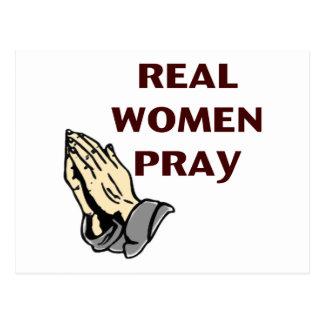 Praying Hands - Real Women Pray Postcard