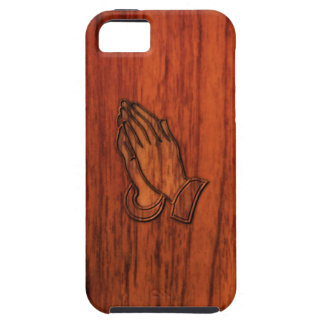 Praying Hands Tough iPhone 5 Case