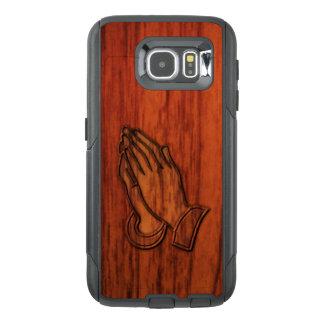 Praying Hands Wood Print