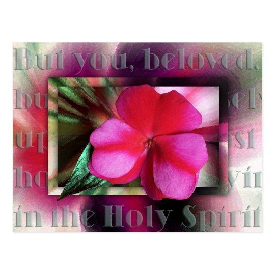 Praying in the Holy Spirit Postcard