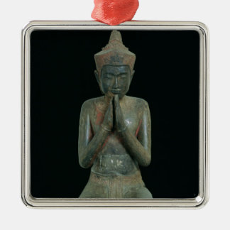 Praying kneeling figure christmas ornament