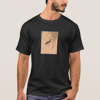 Praying Mantis and the Moon Japanese Art c. 1800s T-Shirt