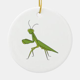 Praying Mantis Christmas Ornament