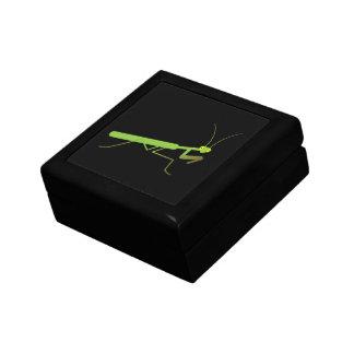 Praying mantis trinket box