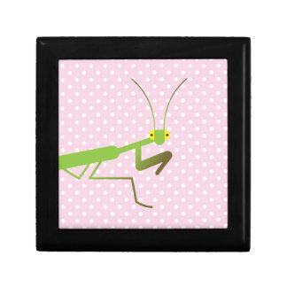 Praying mantis keepsake boxes