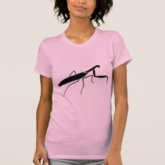 Praying Mantis Print Tee Shirt