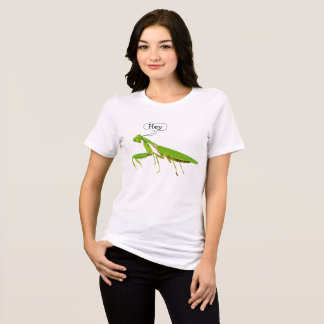 Praying Mantis Says Hey T-shirt