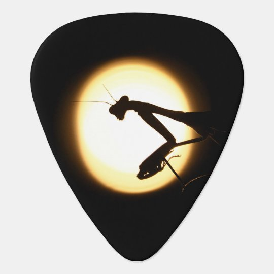 Praying Mantis Silhouette Plectrum