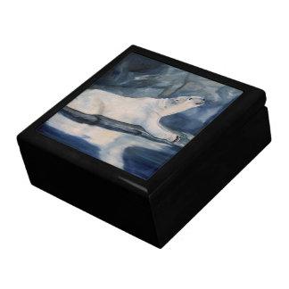 Praying Polar Bear Gift Box