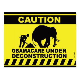 Pre-addressed Postcard to Donald Trump Healthcare