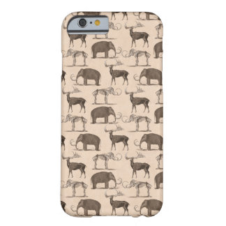 Pre-Historic Mammals Megaceros and Woolly Mammoth Barely There iPhone 6 Case